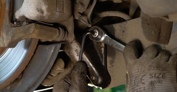 Tausch Tutorial Koppelstange am VW PASSAT Variant (3C5) 2005 wechselt - Tipps und Tricks