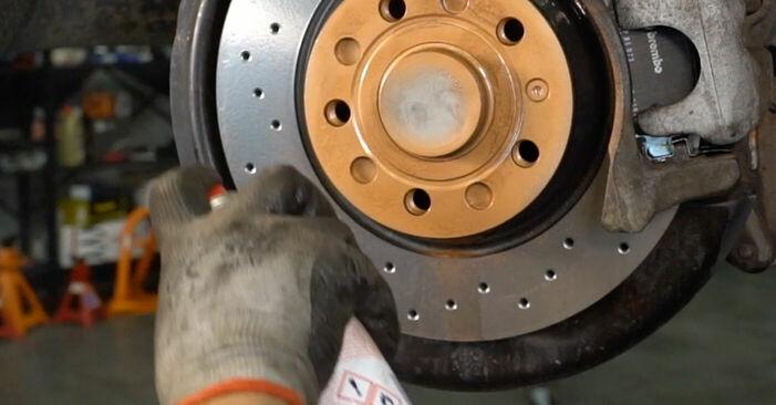 Wie Koppelstange VW PASSAT Variant (3C5) 2.0 TDI 16V 2006 austauschen - Schrittweise Handbücher und Videoanleitungen