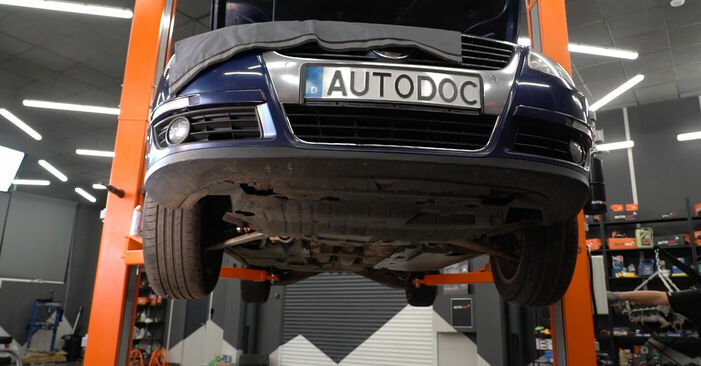 Wechseln Koppelstange am VW PASSAT Variant (3C5) 2.0 FSI 2008 selber