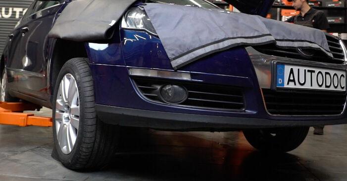 Koppelstange Passat 3c 1.9 TDI 2007 wechseln: Kostenlose Reparaturhandbücher