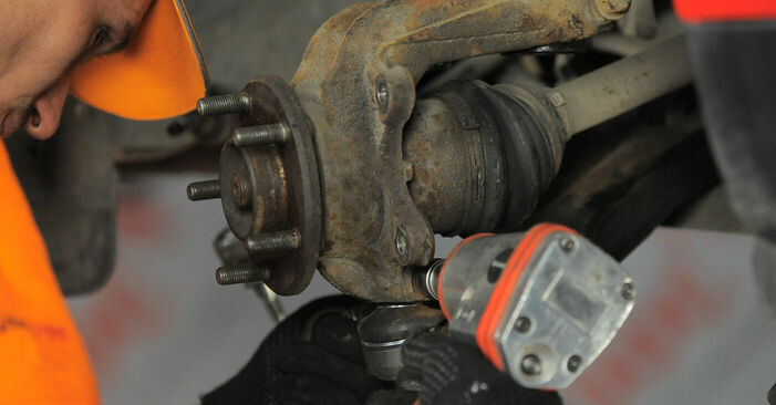 Changing Wheel Bearing on FORD MONDEO III Estate (BWY) 1.8 16V 2003 by yourself