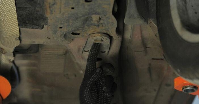 Zalecenia krok po kroku dotyczące samodzielnej wymiany Ford Mondeo bwy 2005 2.2 TDCi Wahacz