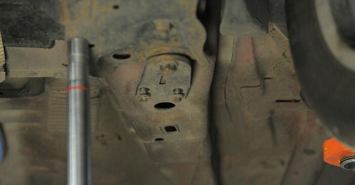 Jak trudno jest to zrobić samemu: wymień Wahacz w Ford Mondeo bwy ST220 3.0 2006 - pobierz ilustrowany przewodnik
