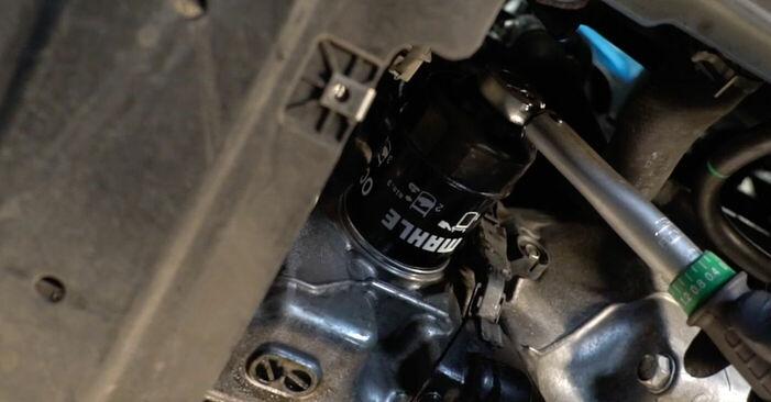 Schritt-für-Schritt-Anleitung zum selbstständigen Wechsel von Honda Insight ZE2/ZE3 2010 1.3 Hybrid (ZE28, ZE2) Ölfilter