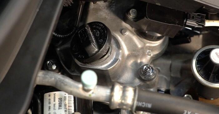 Ölfilter Honda Insight ZE2/ZE3 1.3 Hybrid (ZE28, ZE2) 2011 wechseln: Kostenlose Reparaturhandbücher