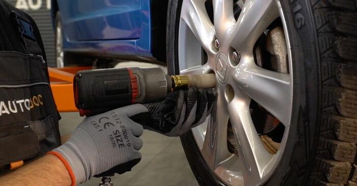 Wechseln Spurstangenkopf am HONDA INSIGHT (ZE_) 1.3 Hybrid (ZE2) 2012 selber
