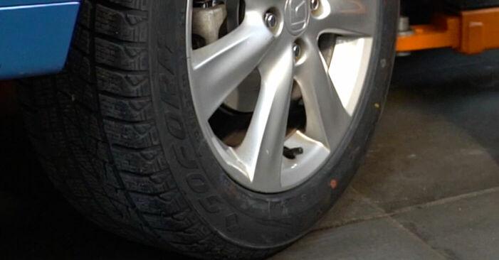 Wechseln Bremsscheiben am HONDA INSIGHT (ZE_) 1.3 Hybrid (ZE2) 2012 selber