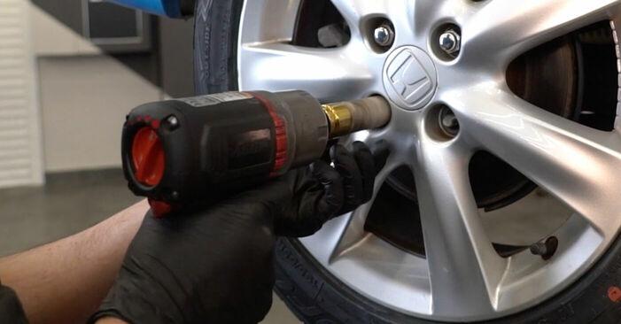 Wie HONDA INSIGHT 1.3 Hybrid (ZE28, ZE2) 2013 Bremsscheiben ausbauen - Einfach zu verstehende Anleitungen online