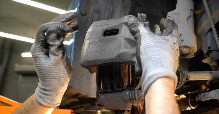 HONDA INSIGHT 1.3 Hybrid (ZE2) Bremsbeläge ausbauen: Anweisungen und Video-Tutorials online
