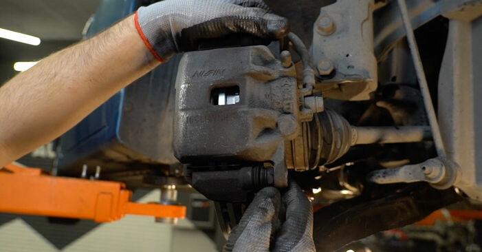 Wie Bremsbeläge HONDA INSIGHT (ZE_) 1.3 Hybrid (ZE2) 2010 austauschen - Schrittweise Handbücher und Videoanleitungen