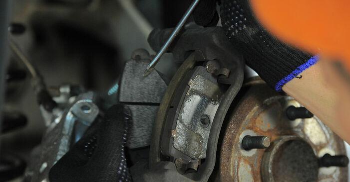 Ako dlho trvá výmena: Lozisko kolesa na aute Ford Mondeo bwy 2000 – informačný PDF návod