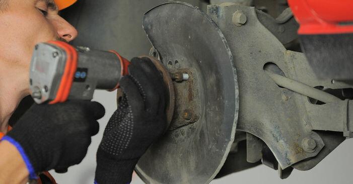 Podrobné odporúčania pre svojpomocnú výmenu Ford Mondeo bwy 2005 2.2 TDCi Lozisko kolesa