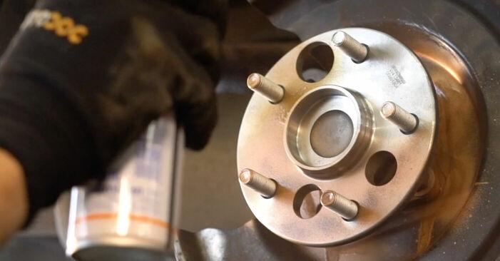 FORD MONDEO 2007 Lozisko kolesa návod na výmenu, krok po kroku