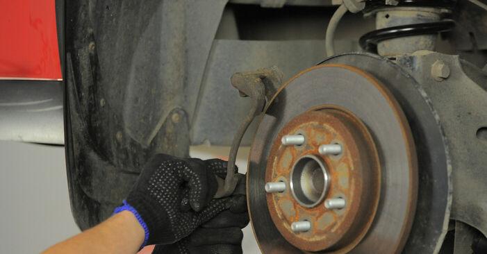 Svojpomocná výmena Lozisko kolesa na aute Ford Mondeo bwy 2002 2.0 16V