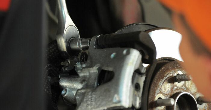 Svojpomocná výmena FORD MONDEO III Kombi (BWY) 2.0 16V TDDi / TDCi 2006 Lozisko kolesa – online tutoriál