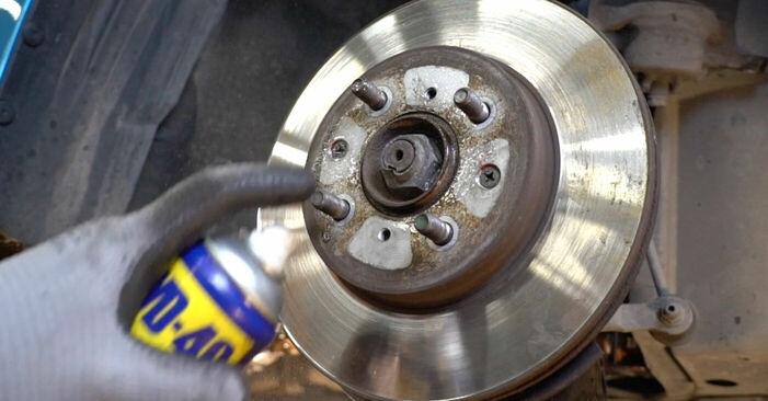 Zweckdienliche Tipps zum Austausch von Bremsscheiben beim HONDA INSIGHT (ZE_) 1.3 Hybrid (ZE28, ZE2) 2011