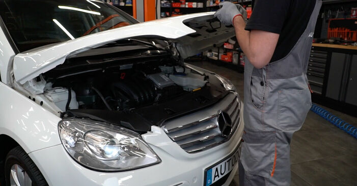 Wie Federn Mercedes W245 B 180 CDI 2.0 (245.207) 2005 tauschen - Kostenlose PDF- und Videoanleitungen