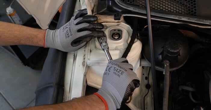 Federn Mercedes W245 B 170 1.7 (245.232) 2007 wechseln: Kostenlose Reparaturhandbücher