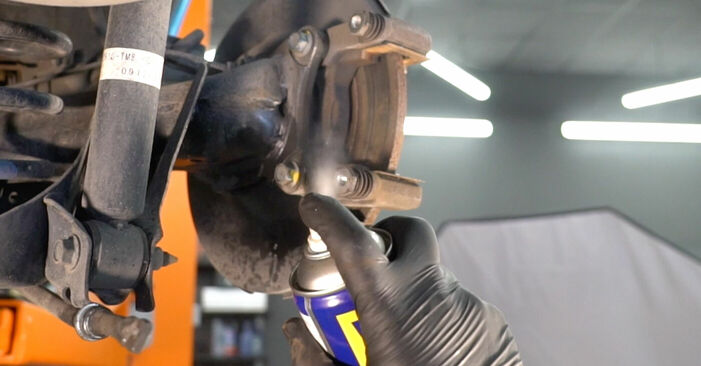 Replacing Wheel Bearing on Honda Insight ZE2/ZE3 2019 1.3 Hybrid (ZE28, ZE2) by yourself