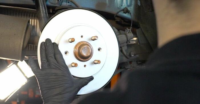 INSIGHT (ZE_) 1.3 Hybrid (ZE2) 2020 Wheel Bearing DIY replacement workshop manual