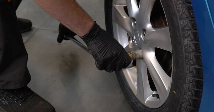 How to replace HONDA INSIGHT (ZE_) 1.3 Hybrid (ZE28, ZE2) 2010 Wheel Bearing - step-by-step manuals and video guides