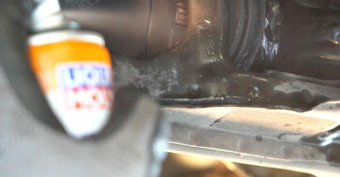 Querlenker Ihres Mercedes W245 B 170 NGT 2.0 (245.233) 2012 selbst Wechsel - Gratis Tutorial