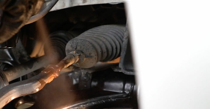 Spurstangenkopf Mercedes W245 B 170 1.7 (245.232) 2006 wechseln: Kostenlose Reparaturhandbücher