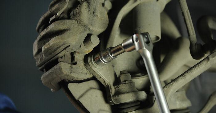 BMW 3 SERIES 2011 Féktárcsa lépésről lépésre csere útmutató