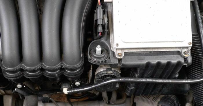 Austauschen Anleitung Zündkerzen am Mercedes W245 2005 B 180 CDI 2.0 (245.207) selbst