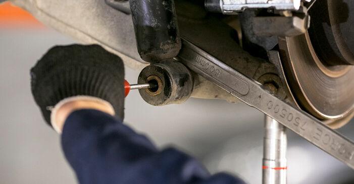 Wie schwer ist es, selbst zu reparieren: Domlager BMW E53 3.0 i 2006 Tausch - Downloaden Sie sich illustrierte Anleitungen