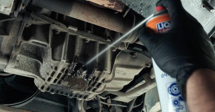 Wie Ölfilter Ford Fiesta V jh jd 1.4 TDCi 2001 tauschen - Kostenlose PDF- und Videoanleitungen
