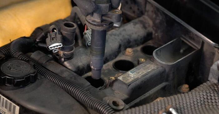 Toyota Aygo ab1 1.4 HDi 2007 Candela Di Accensione sostituzione: manuali dell'autofficina