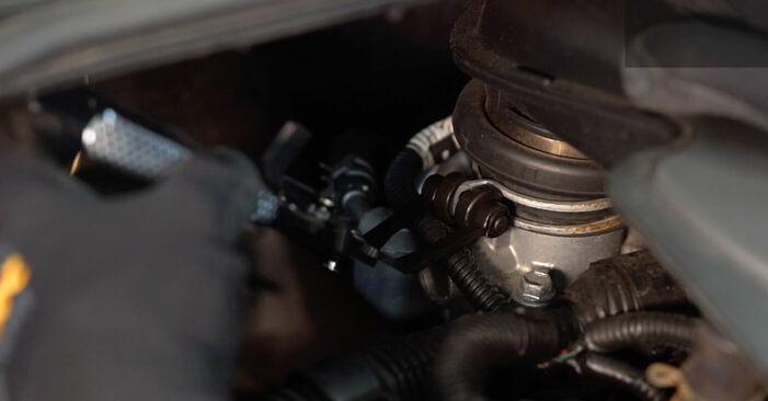 Sostituendo Candela Di Accensione su Toyota Aygo ab1 2005 1 da solo