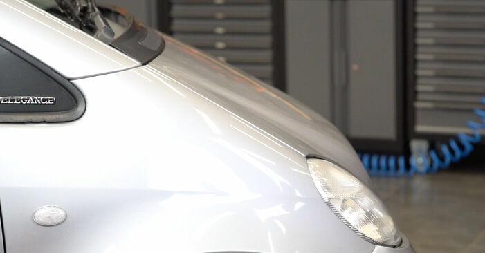 Schritt-für-Schritt-Anleitung zum selbstständigen Wechsel von Mercedes W168 2002 A 190 1.9 (168.032, 168.132) Domlager