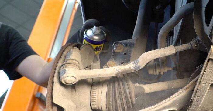 MERCEDES-BENZ A-CLASS A 190 Twin Engine Domlager ausbauen: Anweisungen und Video-Tutorials online