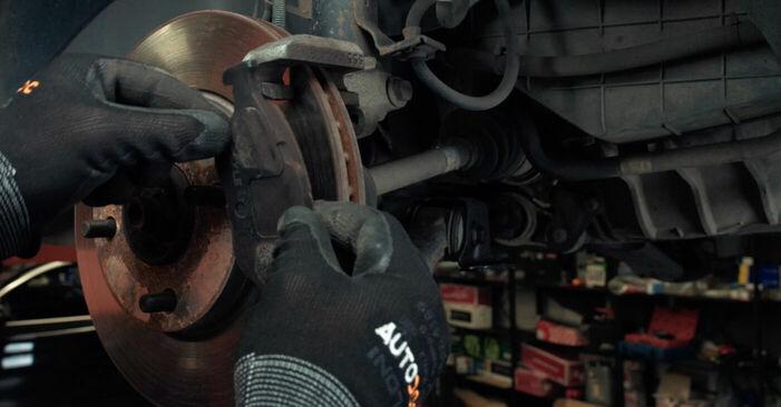 Fiesta Mk5 Schrägheck (JH1, JD1, JH3, JD3) ST150 2.0 2002 1.4 16V Bremsscheiben - Handbuch zum Wechsel und der Reparatur eigenständig