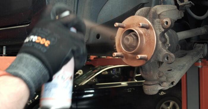 Bremsscheiben Ford Fiesta V jh jd 1.3 2003 wechseln: Kostenlose Reparaturhandbücher
