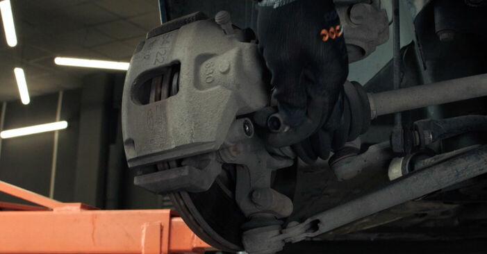 Bremsscheiben beim FORD FIESTA 1.0 2008 selber erneuern - DIY-Manual