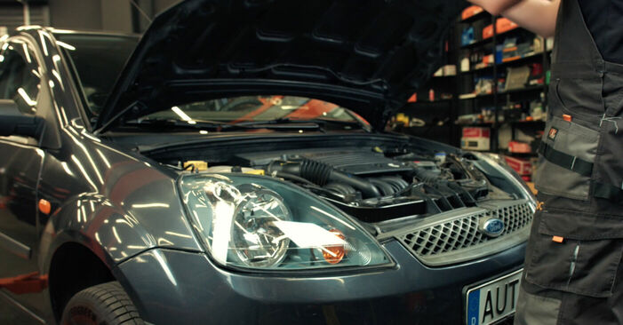 How to change Springs on Ford Fiesta V jh jd 2001 - free PDF and video manuals