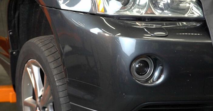 Bremsscheiben Ihres Lexus RX XU30 3.3 400h AWD 2005 selbst Wechsel - Gratis Tutorial