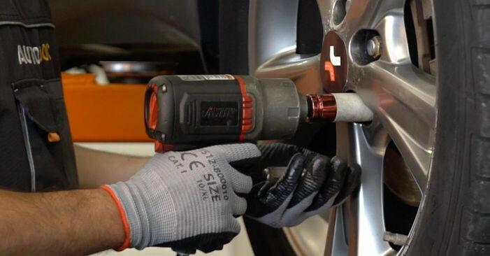 αλλαγη Τακάκια Φρένων LEXUS RX 3.3 400h AWD: online οδηγοί και βίντεο tutorial