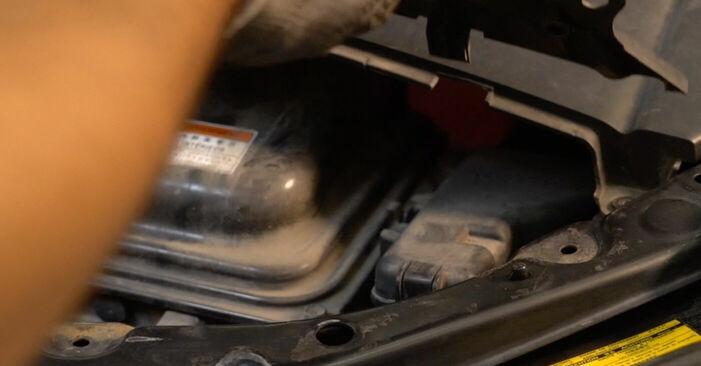 Lexus RX XU30 3.0 2005 Τακάκια Φρένων αντικατάσταση: δωρεάν εγχειρίδια συνεργείου