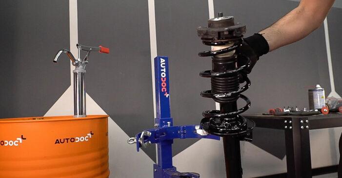 FABIA Combi (6Y5) 1.4 TDI 2000 Fjeder gør-det-selv udskiftnings værksted manual