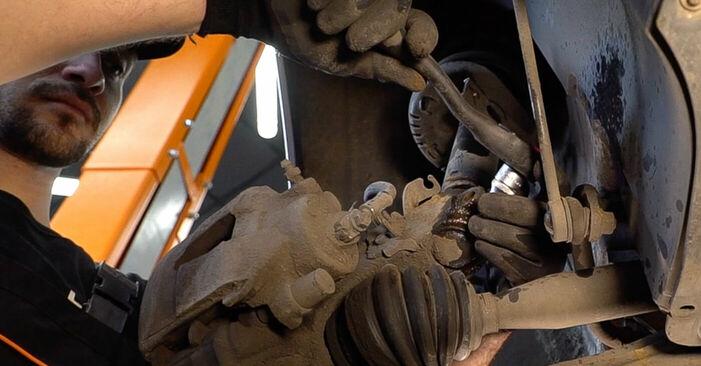 Hvordan man udskifter SKODA FABIA Combi (6Y5) 1.4 16V 2000 Tårnleje - trin-for-trin manualer og video vejledninger