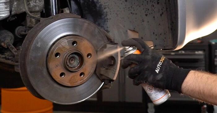 SKODA FABIA 1.4 Bremsschläuche ausbauen: Anweisungen und Video-Tutorials online