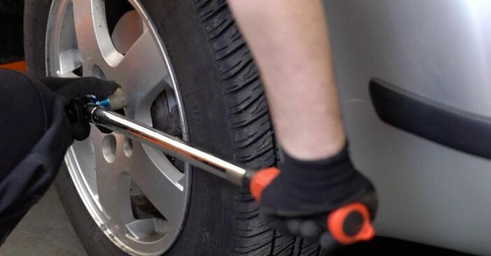 Tausch Tutorial Bremsschläuche am SKODA FABIA Combi (6Y5) 2001 wechselt - Tipps und Tricks