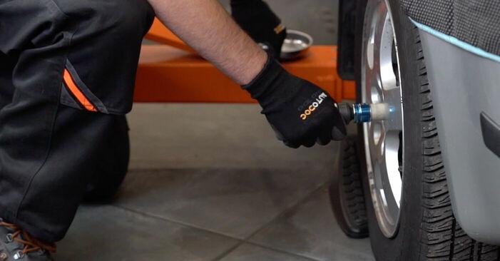 Bremsschläuche Skoda Fabia 6y5 1.2 2001 wechseln: Kostenlose Reparaturhandbücher