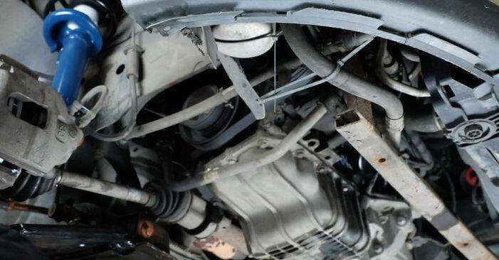 Changing Poly V-Belt on FORD Fiesta Mk5 Hatchback (JH1, JD1, JH3, JD3) 1.25 16V 2004 by yourself