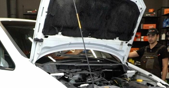 Hur byta Multirem på Opel Zafira f75 1999 – gratis PDF- och videomanualer