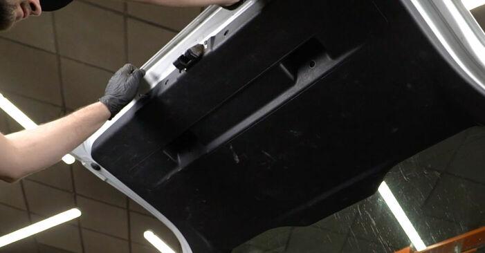 Wie Heckklappendämpfer Opel Zafira f75 2.0 DTI 16V (F75) 1999 tauschen - Kostenlose PDF- und Videoanleitungen